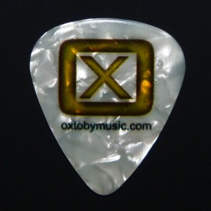 OxtobyMusic.com custom plectrum